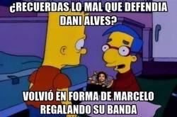 Enlace a Marcelo es muy bueno atacando, pero en defensa...
