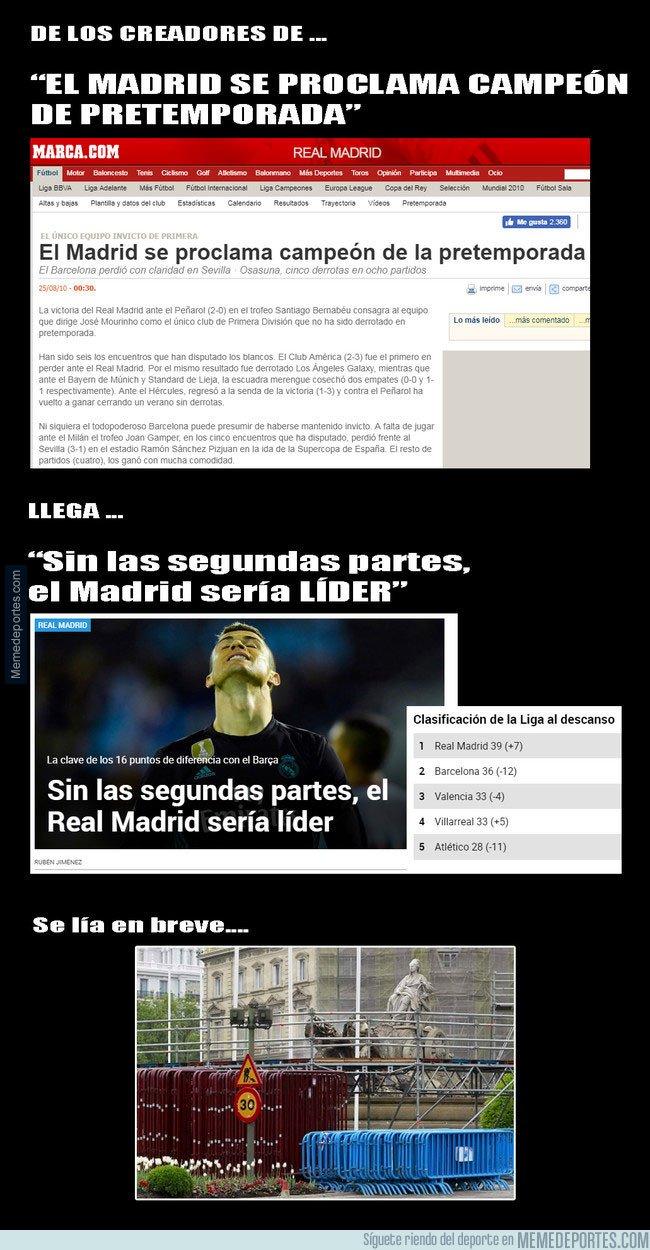 1015476 - Marca se inventa una nueva clasificación en la que el Real Madrid sería el líder