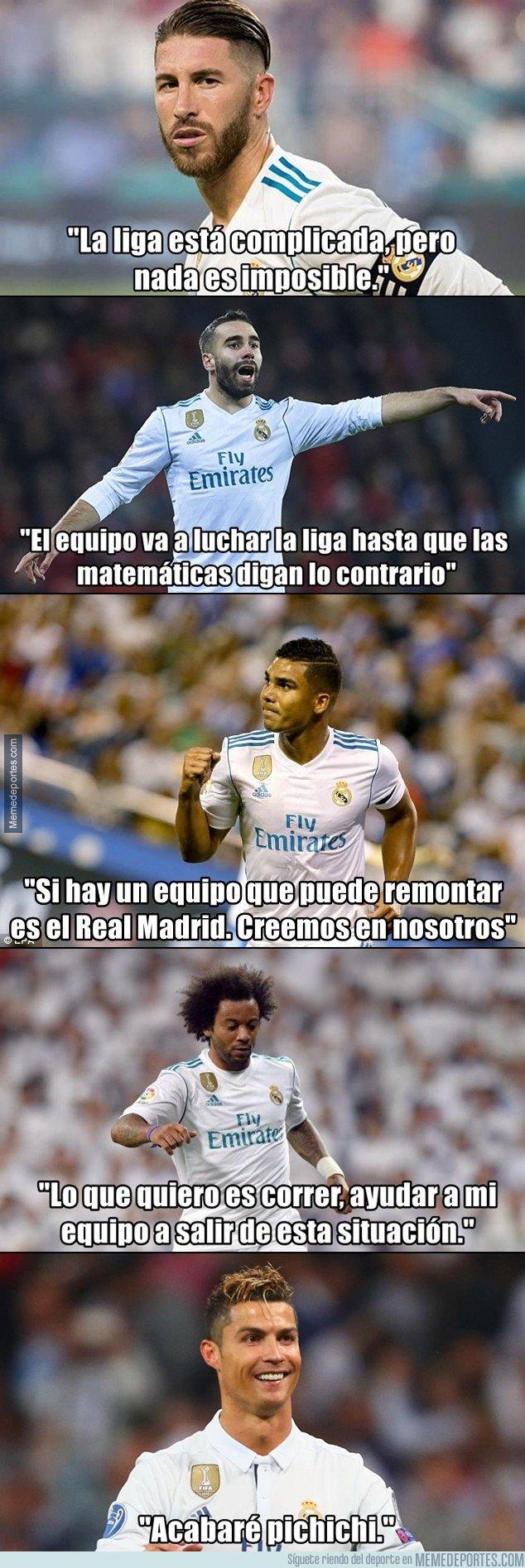 1015606 - Lo que piensan 5 jugadores del Madrid acerca de su situación actual. Cristiano te hará estallar la cabeza