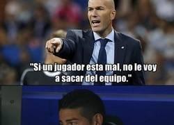 Enlace a La lógica de Zidane es para reflexionar