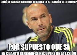 Enlace a Zidane apuesta por el cambio