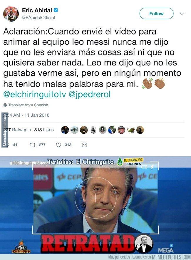1015804 - Abidal sale en defensa de Messi y calla la boca a Pedrerol con estas palabras