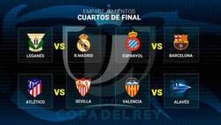 Enlace a ¡¡Así quedan los enfrentamientos de Copa del Rey para cuartos de final!!