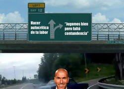 Enlace a La temporada de Zidane resumida en una imagen
