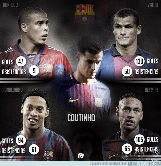 1015933 - ¿Podrá Coutinho igualar a estos dioses brasileños?