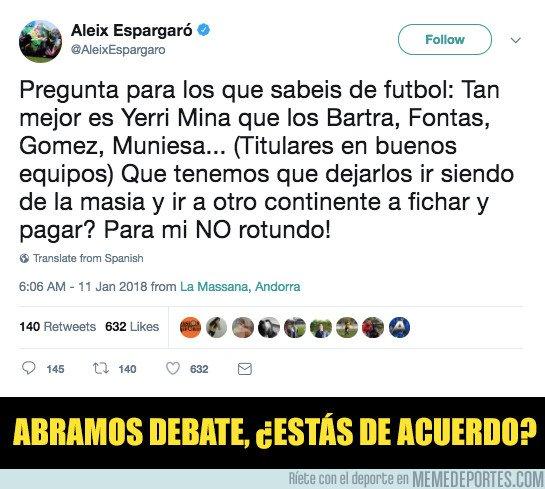 1015982 - El contundente mensaje de Aleix Espargaró al Barça cuestionando su política de fichajes