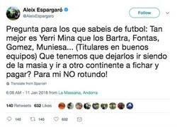 Enlace a El contundente mensaje de Aleix Espargaró al Barça cuestionando su política de fichajes