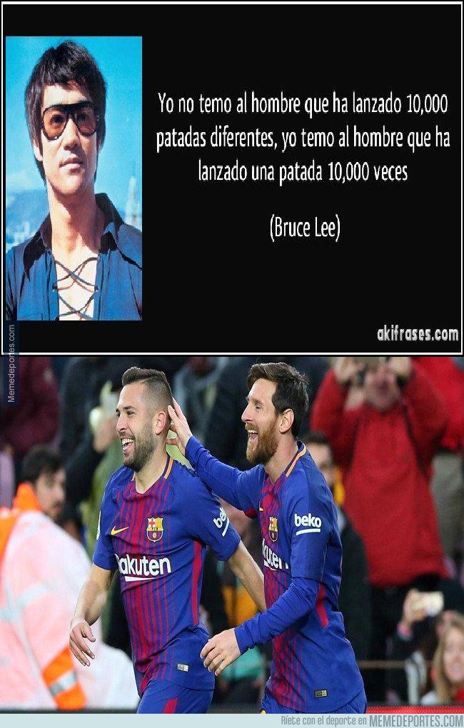1016078 - Bruce Lee y su opinión de Messi/Alba