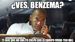 Enlace a Zidane salvando a su favorito