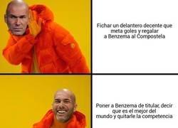 Enlace a Zidane quiere más a Benzema que a sus hijos