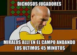 Enlace a Zidane haciendo como que tiene