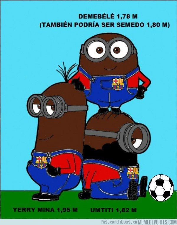 1016628 - Si los jugadores del Barça fueran Minions, así se diferenciarían Dembélé, Semedo, Umtiti y Yerry Mina