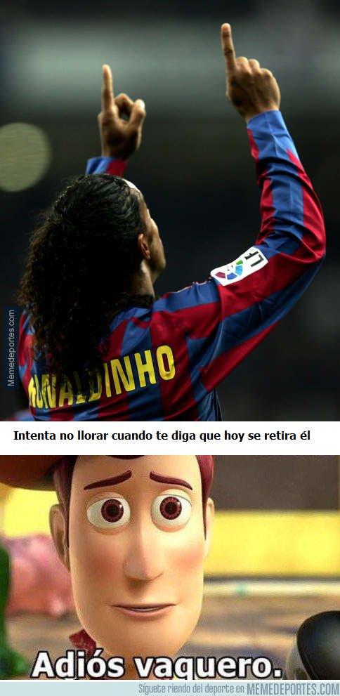 1016822 - Gracias por todo Ronaldinho...