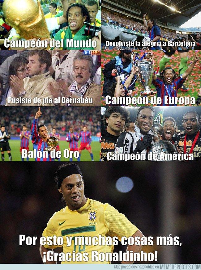 1016841 - El único Campeón del Mundo, Europa, América y Balón de Oro, Adiós Maestro