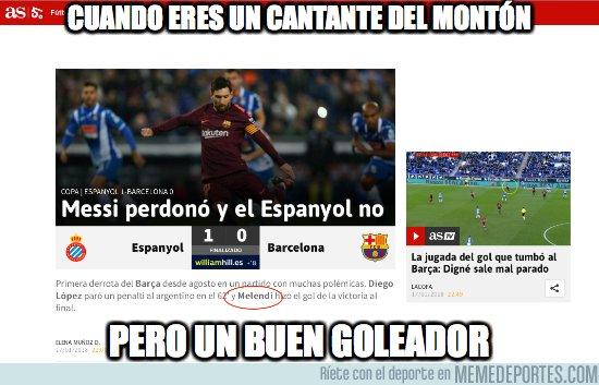 1017006 - Melendi marca al Barça