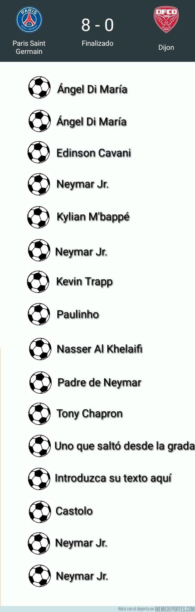1017050 - Cuando repasas los goleadores del partido del PSG