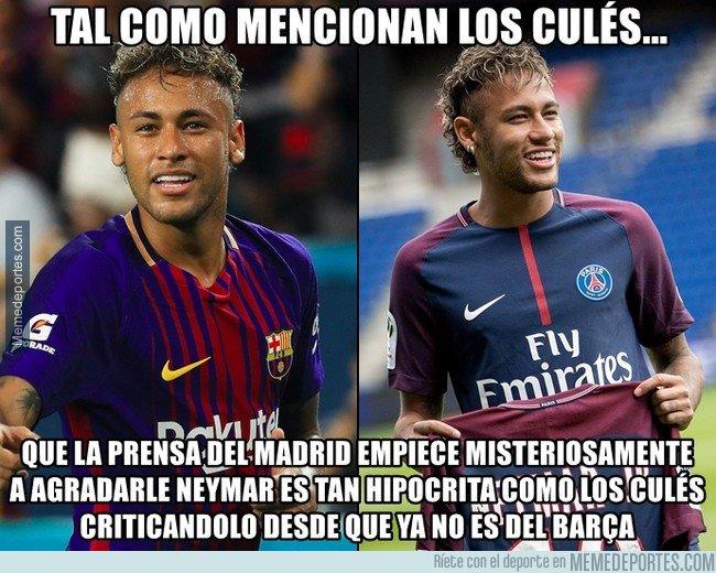1017121 - Neymar no es otro. Solo ha cambiado de enemigos