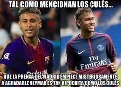Enlace a Neymar no es otro. Solo ha cambiado de enemigos