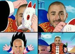 Enlace a Ese momento cuando Zidane se enteró que ya puede jugar Benzema
