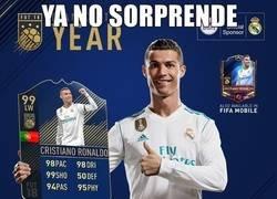 Enlace a Cristiano es el jugador más valorado en el team of the year del FIFA18