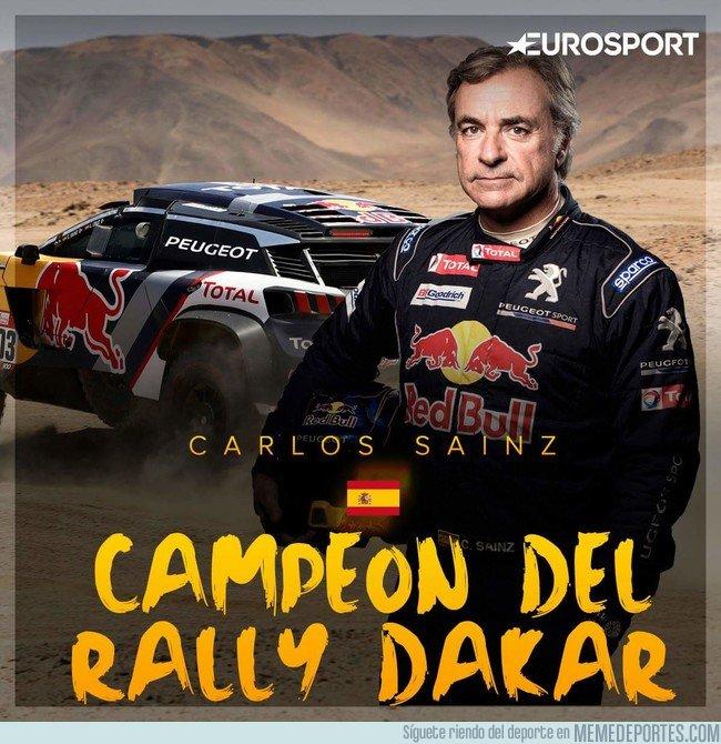 1017239 - Carlos Sainz campeón del Dakar 2018