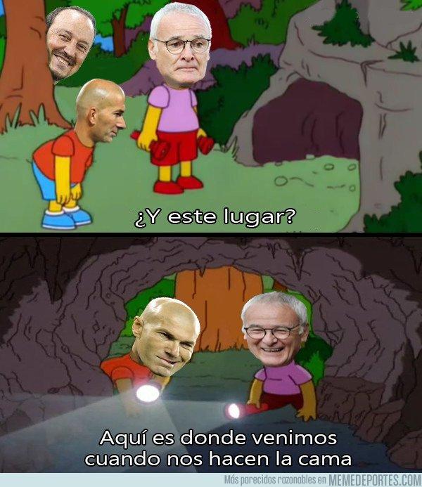 1017262 - Ranieri le enseña el camino a Zidane como siga así