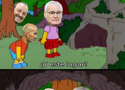Enlace a Ranieri le enseña el camino a Zidane como siga así