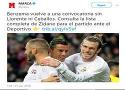 Enlace a Ceballos tras la convocatoria del Madrid