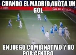 Enlace a Cuando el Madrid anota en combinacion