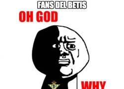Enlace a Fans del betis durante el segundo tiempo