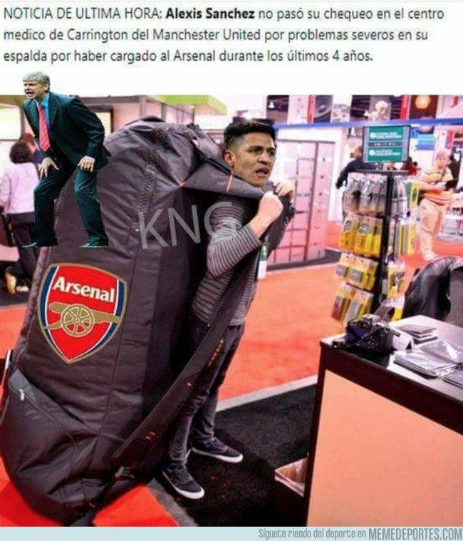 1017619 - Alexis sale jodido del Arsenal
