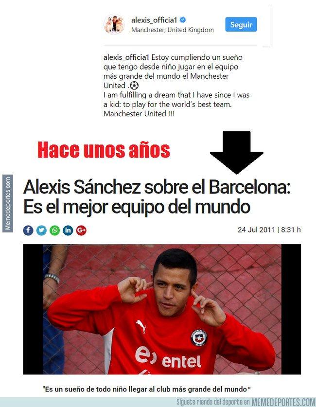 1017711 - Mientras tanto, Alexis Sánchez diciendo lo que todos dicen
