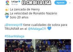 Enlace a El tweet random de LaLiga sobre En-Nesyri