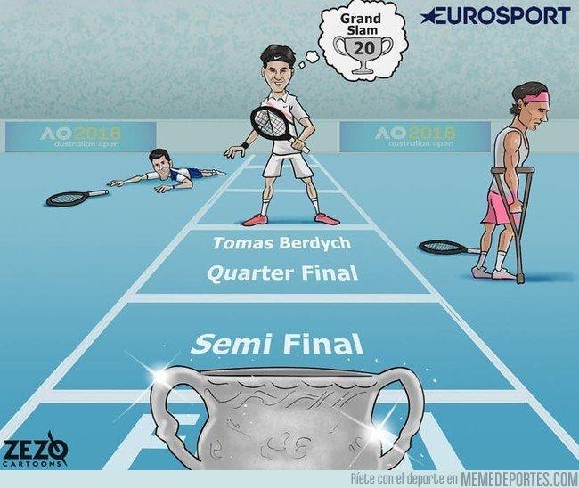 1017897 - Federer tiene el trofeo entre ceja y ceja