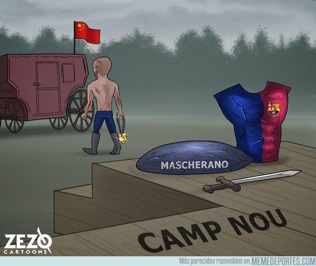 1018168 - Mascherano se despide de su hogar como el gladiador que es, by @ZEZO_CARTOONS