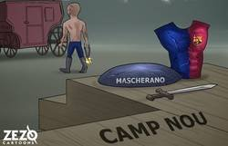 Enlace a Mascherano se despide de su hogar como el gladiador que es, by @ZEZO_CARTOONS