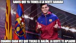 Enlace a Coutinho y el Camp Nou