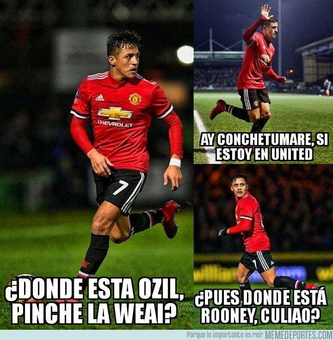 1018503 - Así fue el debut de Alexis Sánchez con el United
