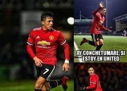 Enlace a Así fue el debut de Alexis Sánchez con el United