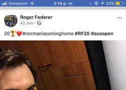 Enlace a ¡Enhorabuena a Roger Federer por su Grand Slam número 20!