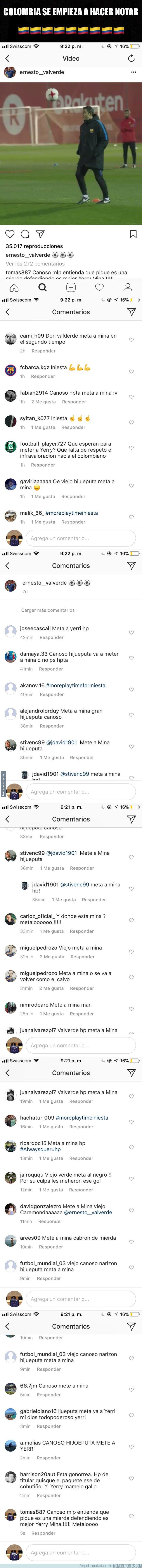 1018841 - Los trolls han invadido el instagram de Valverde, y le dicen todo esto, menos guapo