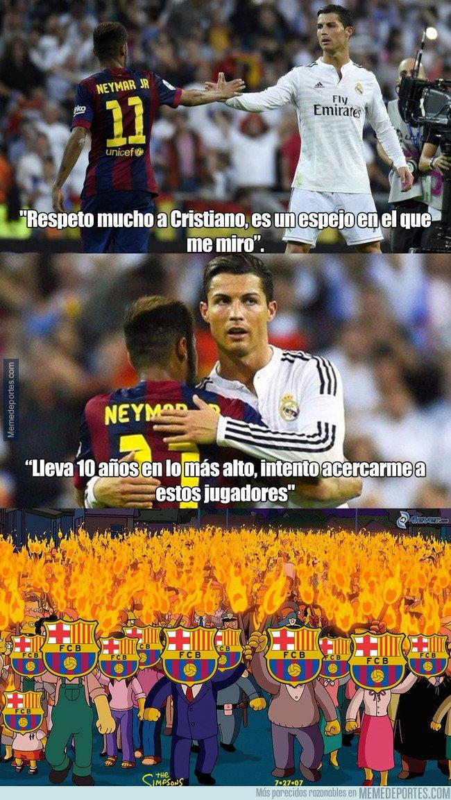 1018984 - Las palabras de Neymar hacia Cristiano Ronaldo que no le gustarán nada a los culés