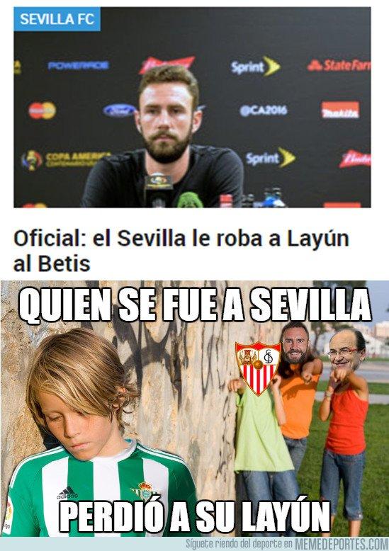 1019019 - Aprovechó que venía al Betis para firmar por el Sevilla