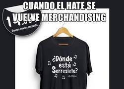Enlace a Sale a la venta la camiseta de dónde está serresiete