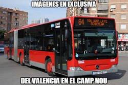 Enlace a El Bus del Valencia recuerda al viejo Madrid