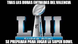 Enlace a El Valencia ya prepara la Super Bowl
