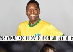 Enlace a Tanto hablar de la soberbia de Cristiano... ¿Y Pelé?