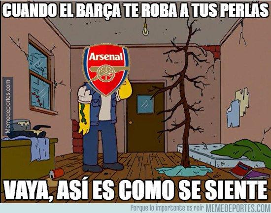 1019422 - Estado del Arsenal tras el fichaje de McGuane por el Barcelona B