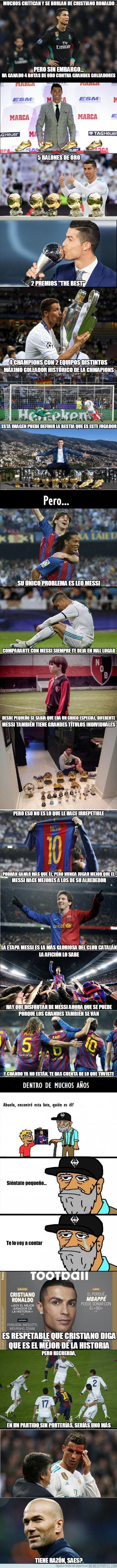 1019480 - Cristiano y Messi, historia del fútbol