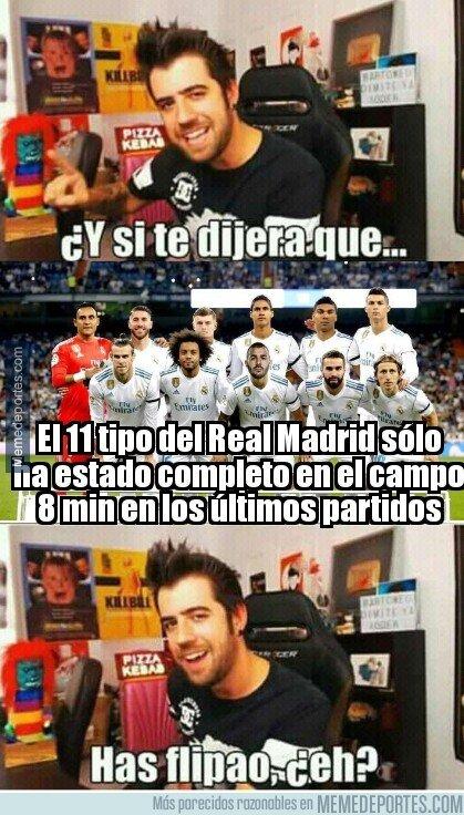 1019568 - Vaya dato curioso sobre el 11 del Real Madrid